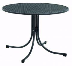 Streckmetall Tisch Ø90 cm